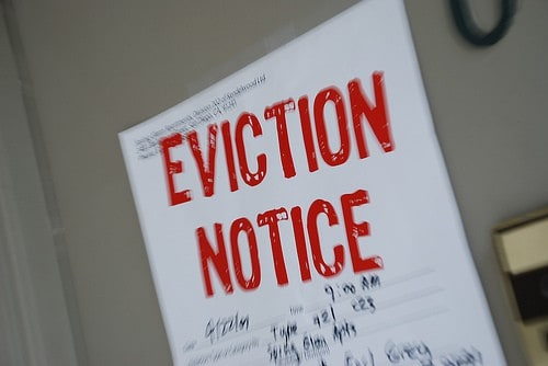 Denver area eviction notice