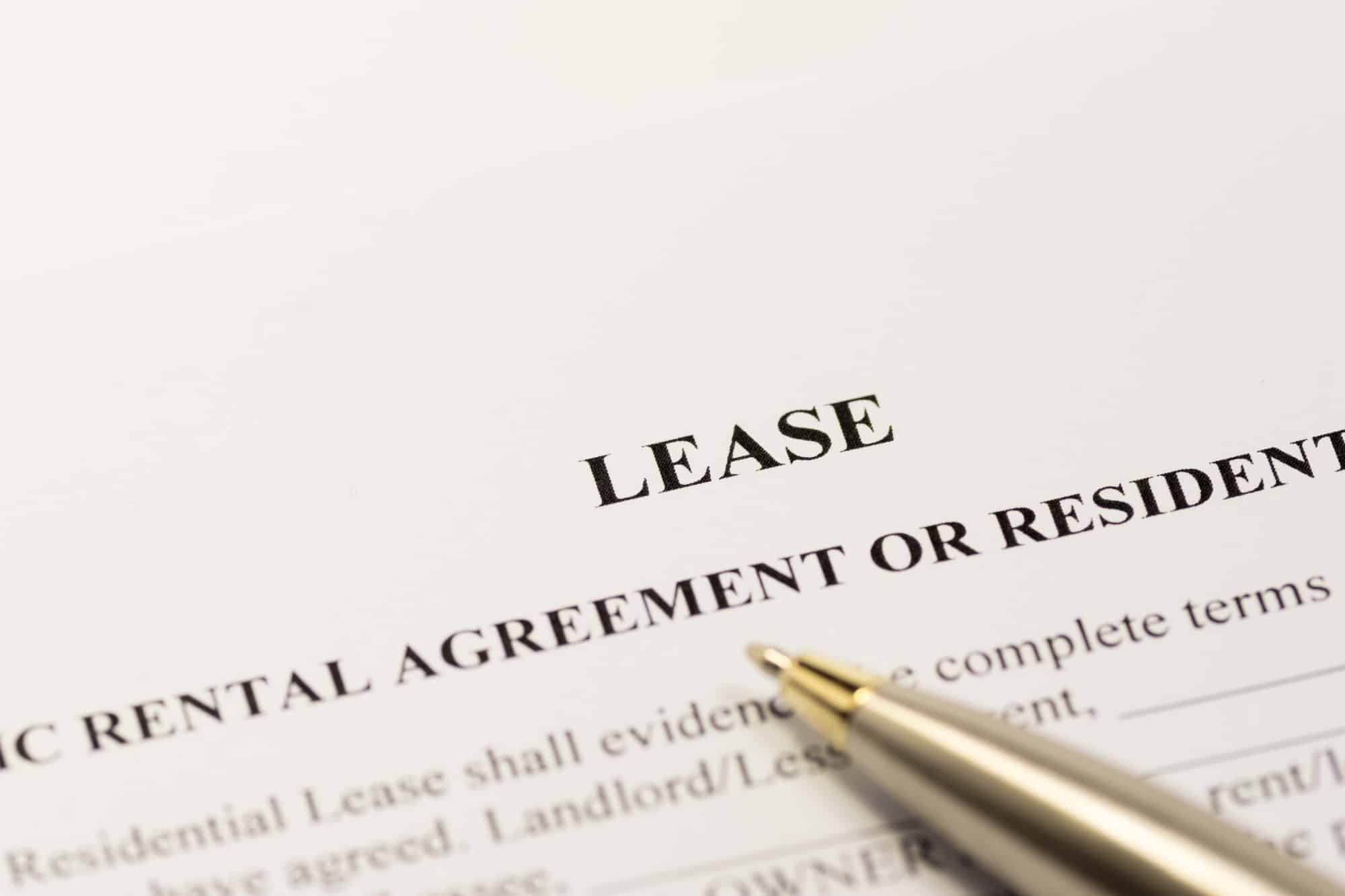 how to write a lease agreement