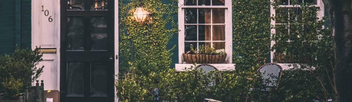 home with ivy growning and cruiser bike Bergan & Company Property Management Denver, Centennial, Colorado